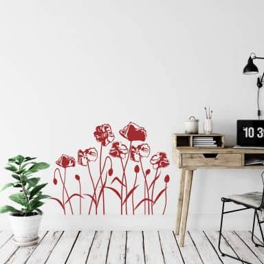 Poppies Wall sticker