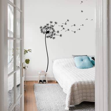 Wandtattoo Blumen Wall Art De
