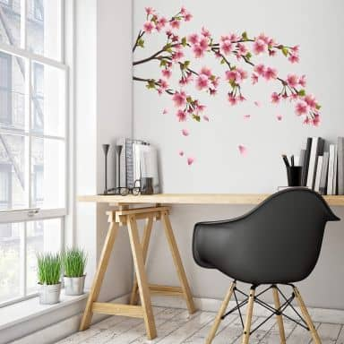 Cherry Blossom Branch Wall sticker