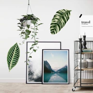Wall sticker Botanical Leaves
