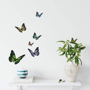 Wandtattoo Schmetterlinge 1