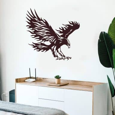 Sticker mural - Aigle