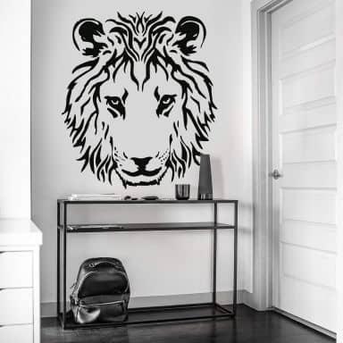 Sticker mural - Tête de Lion