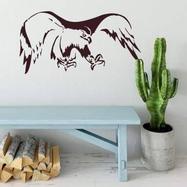 Sticker mural - Aigle 2