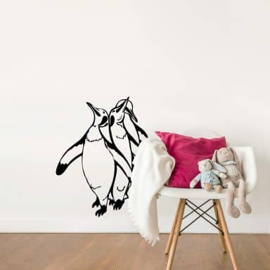 Penguins Silhouette Wall sticker