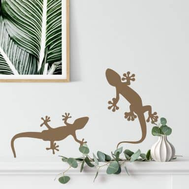 Gecko 2 Wall sticker