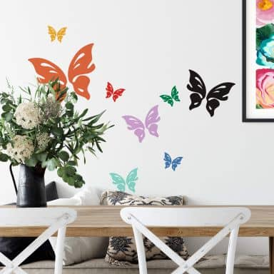 Butterfly Floris Wall sticker