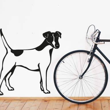 Fox Terrier Wall sticker