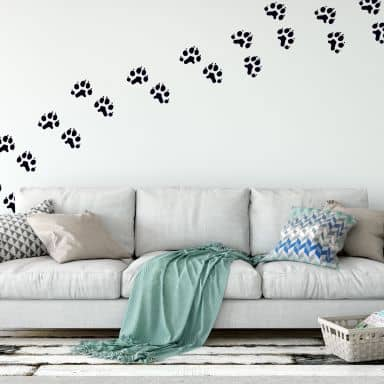 Cat\'s Paws Wall sticker
