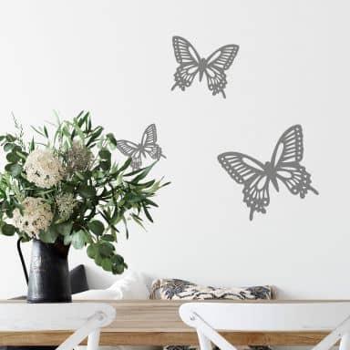 Sticker mural - Set papillons