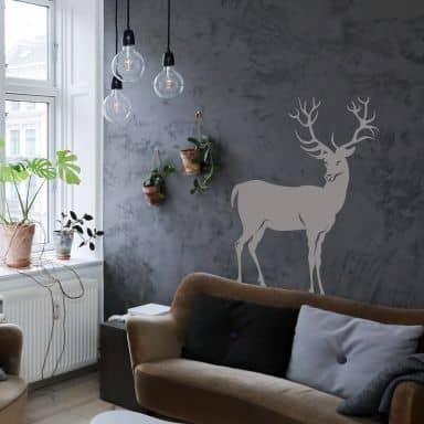 Deer 2 Wall sticker