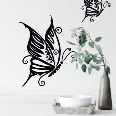Sticker mural - Papillon 7