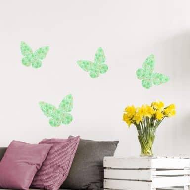 Wandtattoo Schmetterling 02 (Muster)