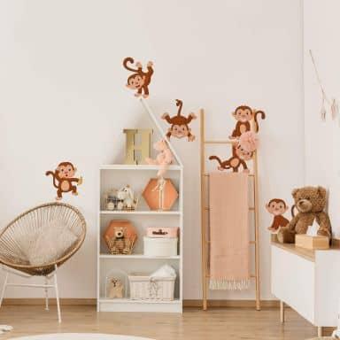 Scimmiette divertenti (Set)