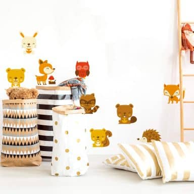 Forest Animals (Set) Wall stickers