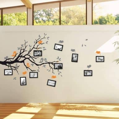 Branch with Birds Expansion set Wall Sticker