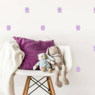 Wall sticker set bears