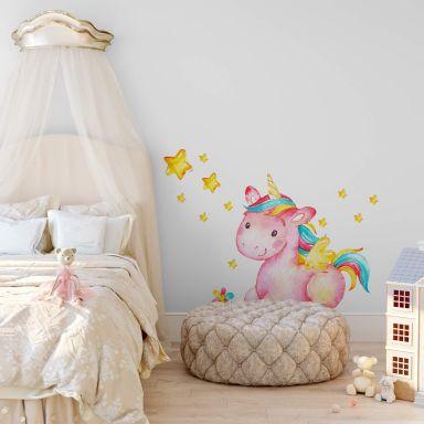 Wall sticker Pinky the Unicorn