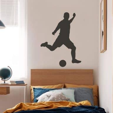 Sticker mural - Joueur de Football 1