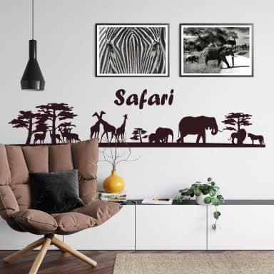 Muursticker Safari 1