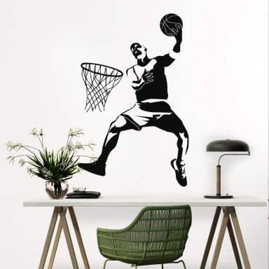 Wandtattoo Basketball 2