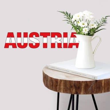 Austria Wall sticker
