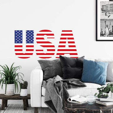 USA Logo Wall sticker