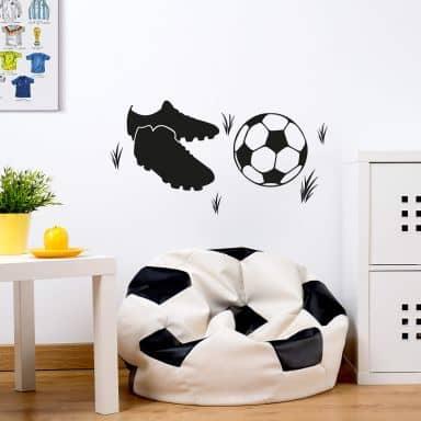 Sticker mural - Chaussures de Foot