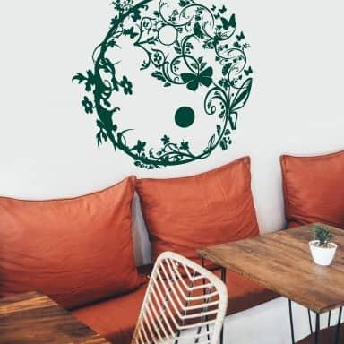 Yin Yang Ornamental Wall sticker