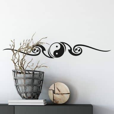 Sticker mural - Yin Yang 2