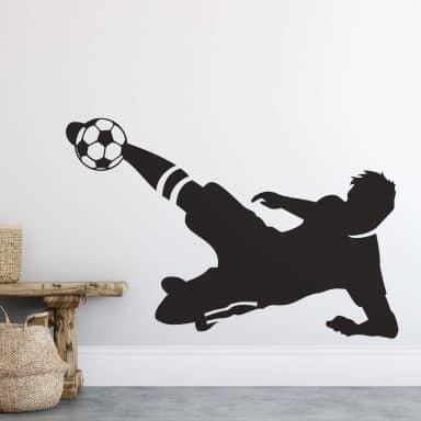 Sticker mural - Joueur de Football 3