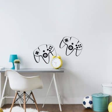 Game Controller 2 Wall sticker