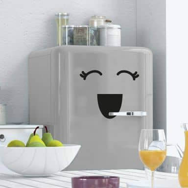 Fridge - Face 3 Wall sticker