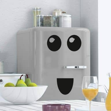 Fridge - Face 4 Wall sticker