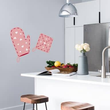 Oven Gloves Wall sticker