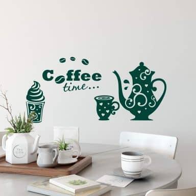 Coffee Time 3 Wall sticker