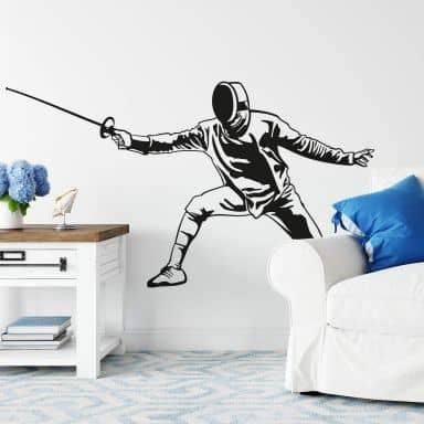 Fencer Wall sticker