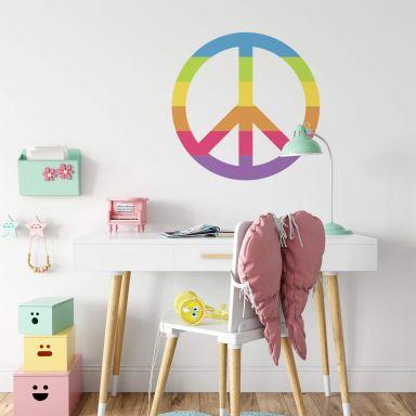 Wall Sticker Emoji Peace