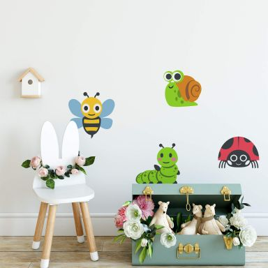 Wall Sticker Emoji Insects