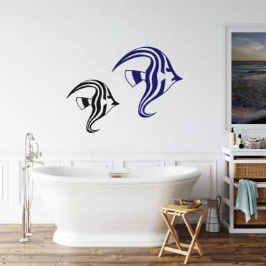 Sticker mural - Poisson 1