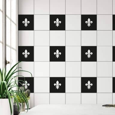 Tile decor: Lily Wall sticker