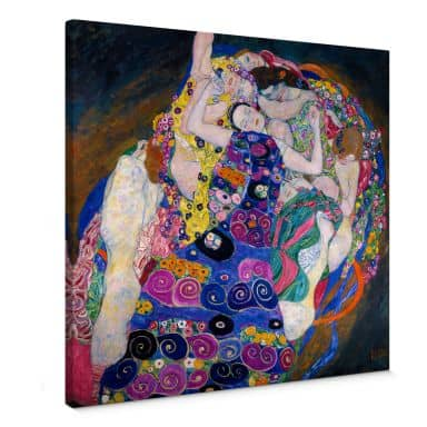 Gustav Klimt - The Virgin Canvas print