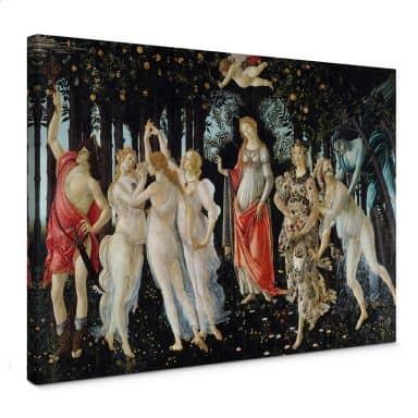 Botticelli - Primavera Canvas print