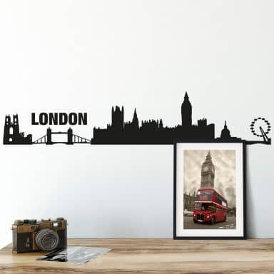 Udsigt over London