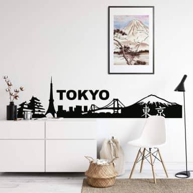 Tokyo Wall sticker