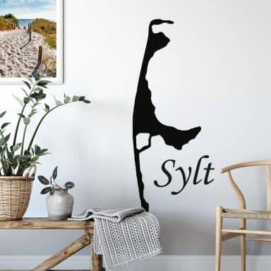 Sticker mural Sylt