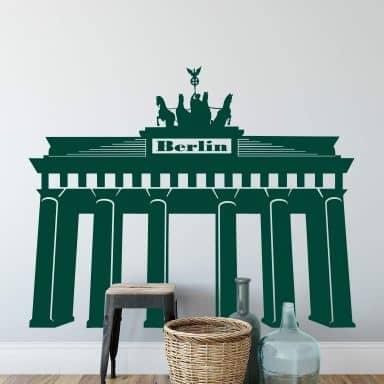 Wandtattoo Brandenburger Tor 1