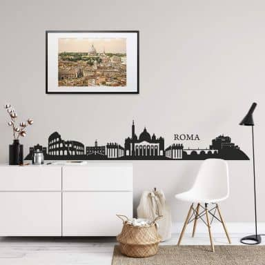 Skyline over Rom