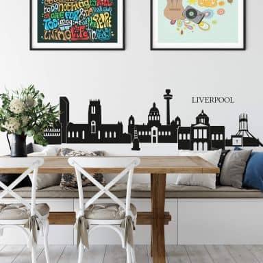 Liverpool Skyline Wall sticker