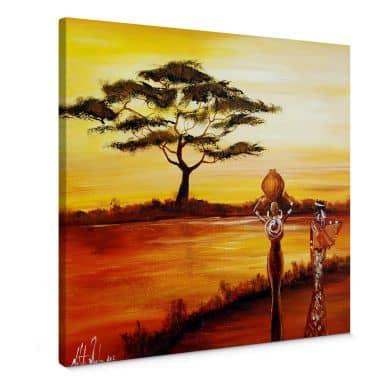 Tableau sur toile - Fedrau - Afrique